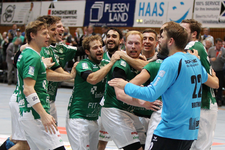 DKB 2. Handball-Bundesliga, DJK Rimpar Wölfe – SG Leutershausen