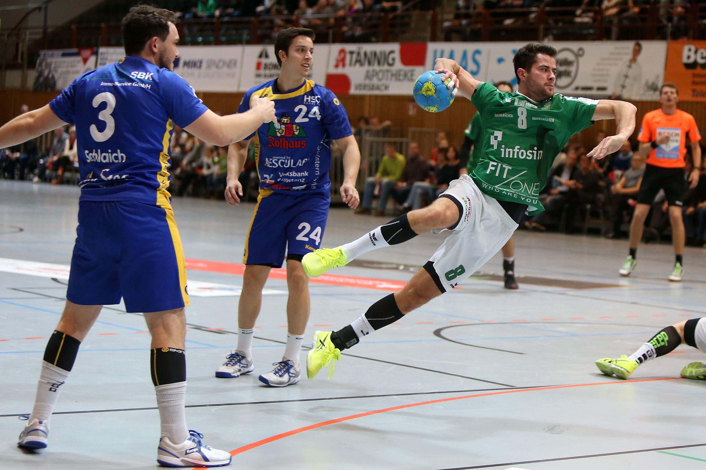 DKB 2. Handball-Bundesliga, DJK Rimpar Wölfe - HSG Kontanz