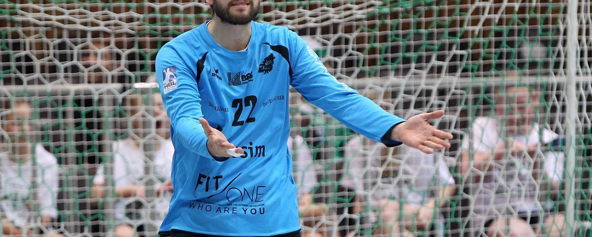 v.li.: Max Brustmann (DJK Rimpar Wölfe) enttäuscht schauend, Enttäuschung, disappointed, DKB 2. Handball-Bundesliga, DJK Rimpar Wölfe - HSG Nordhorn-Lingen, Foto: foto2press.de, Schwarzwaldstraße 19, 69124 Heidelberg - Tel +49 (0)6221 718837 - info@foto2press.de - www.foto2press.de - Veröffentlichung nur mit Urheberangabe gegen Honorar gestattet und Belegexemplar erbeten *** Lieferung erfolgt ausschließlich unter Anerkennung der AGB, einzusehen unter http://www.foto2press.de/agb *** Foto nur für redaktionelle Verwendung - no model release!