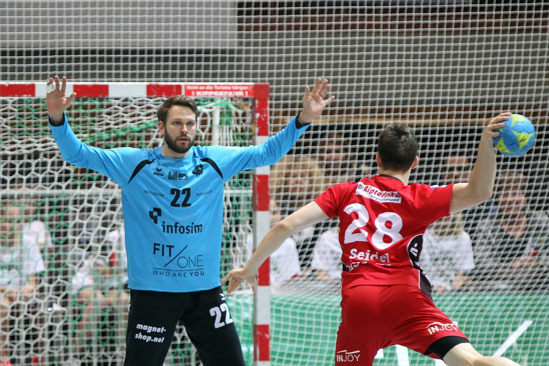 DKB 2. Handball-Bundesliga, DJK Rimpar Wölfe – HSG Nordhorn-Lingen