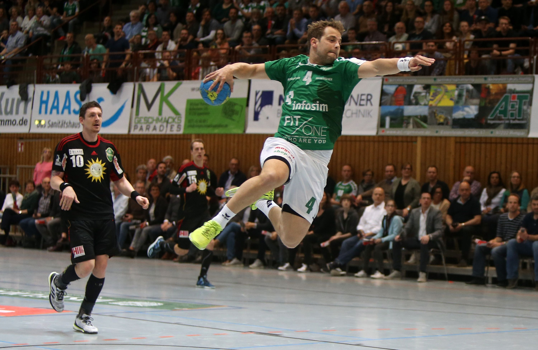 DKB 2. Handball-Bundesliga, DJK Rimpar Wölfe - TuS N-Lübbecke