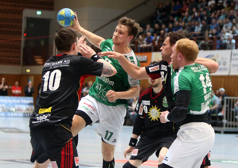 DKB 2. Handball-Bundesliga, DJK Rimpar Wölfe – TuS N-Lübbecke