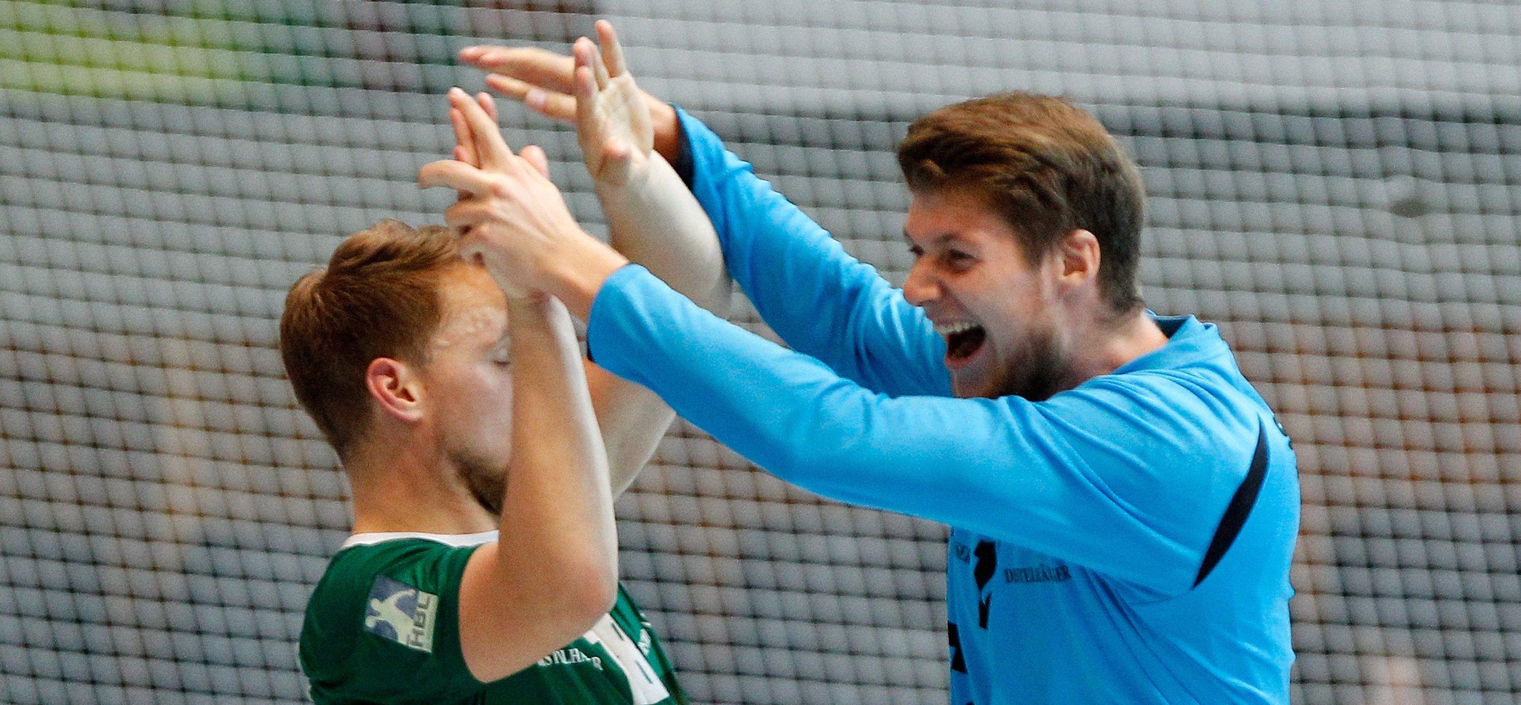 DKB 2. Handball-Bundesliga, DJK Rimpar Wölfe - HC Empor Rostock
