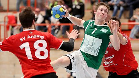 Handball, Bayernliga, SG DJK Rimpar II - SV Anzing