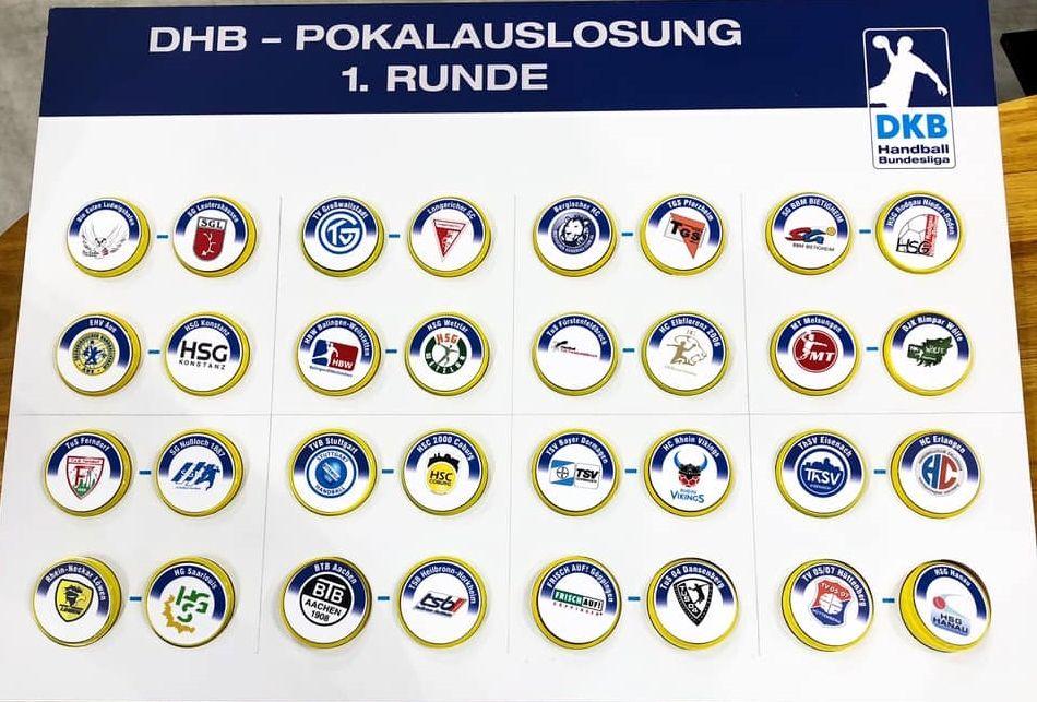 Auslosung DKB Pokal