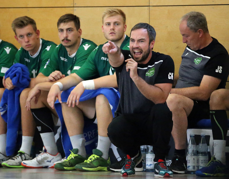 Handball-Testspiel, DJK Rimpar Wölfe - HSG Hanau