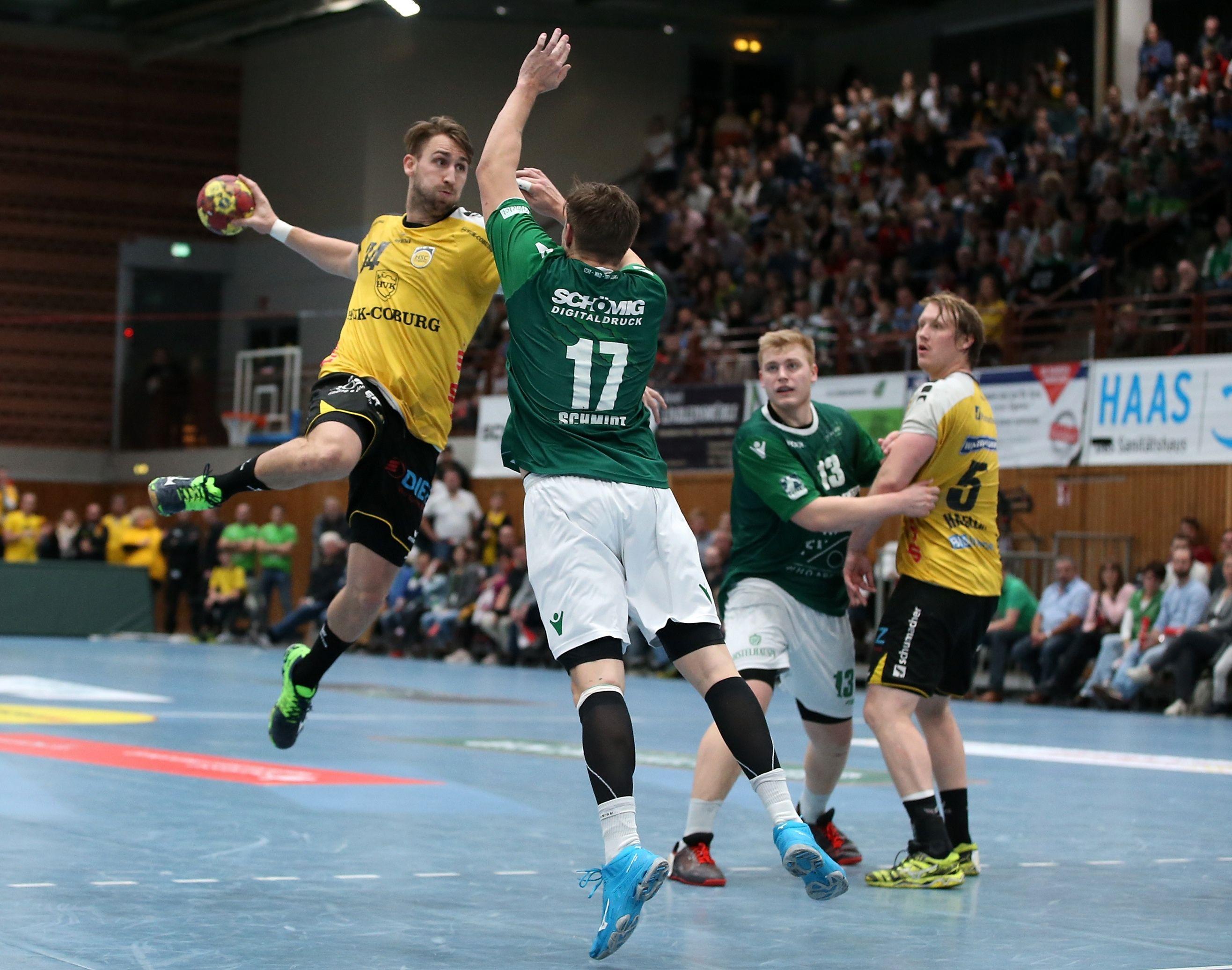 DKB 2. Handball-Bundesliga, DJK Rimpar Wölfe - HSC 2000 Coburg