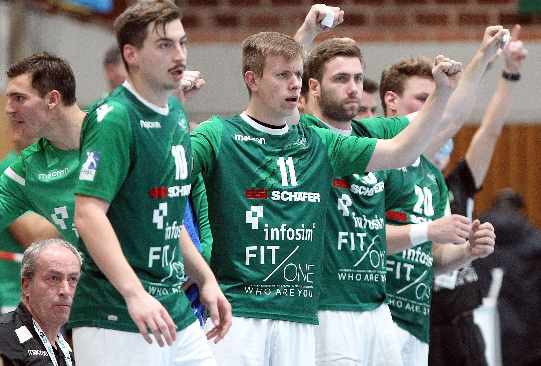 DKB 2. Handball-Bundesliga, DJK Rimpar Wölfe – HSC 2000 Coburg