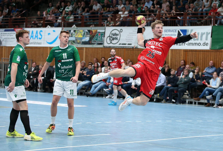 DHB-Pokal Achtelfinale, DJK Rimpar Wölfe - HC Erlangen