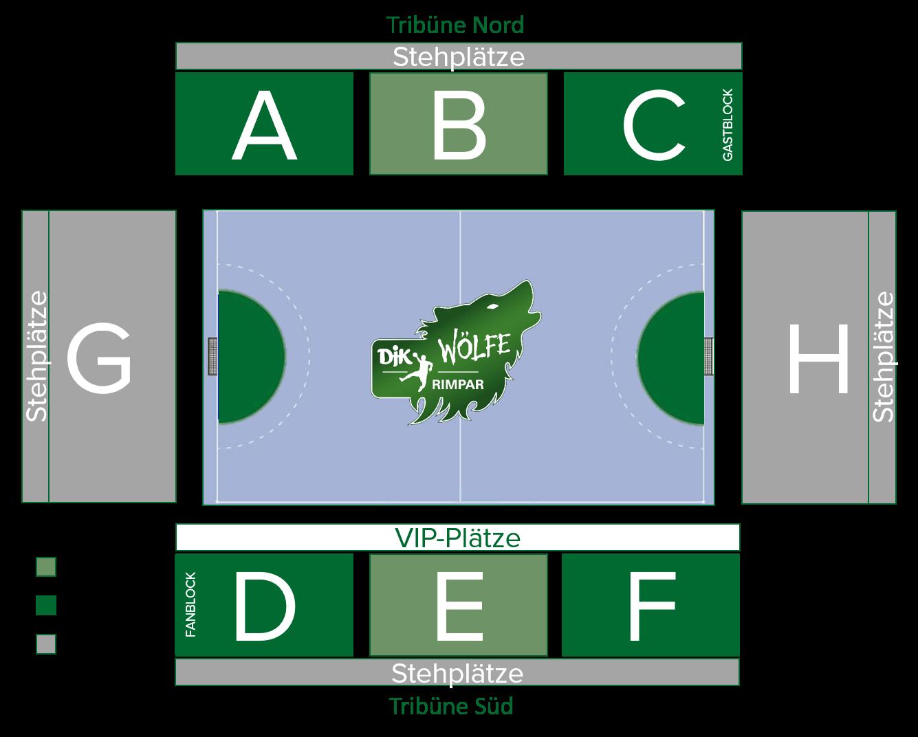 Hallenplan