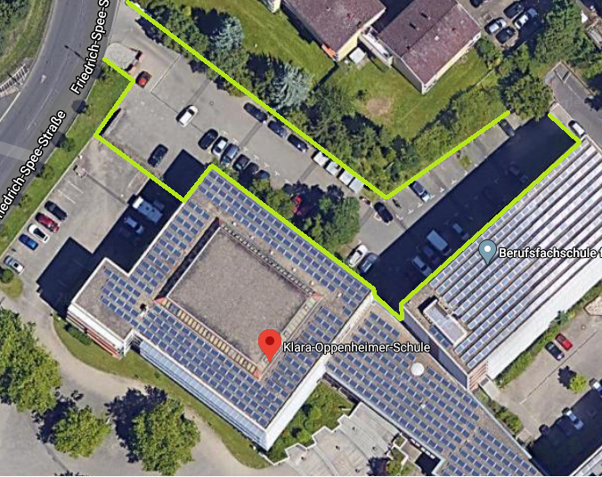 Parkplatz Klara-Oppenheimer-Schule