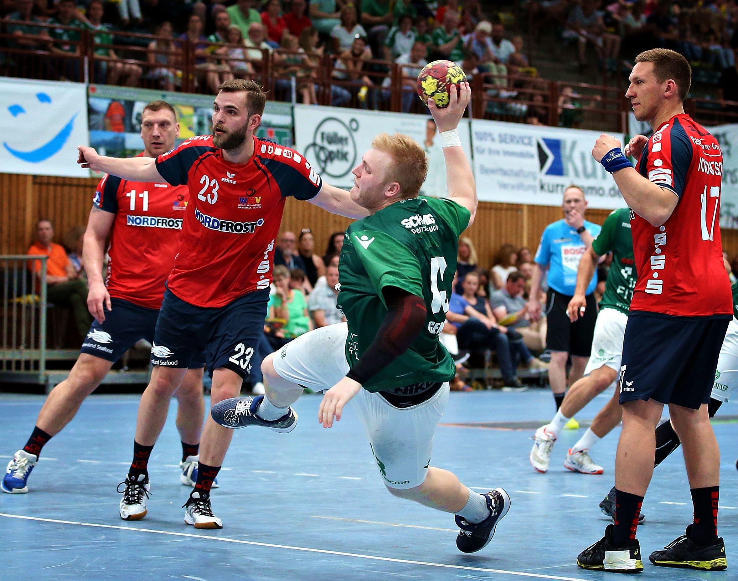 DKB 2. Handball-Bundesliga, DJK Rimpar Wölfe - Wilhelmshavener HV