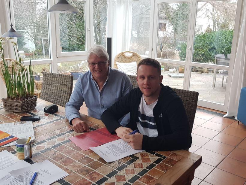 Unterzeichnung Willi