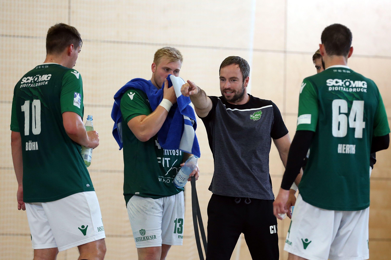 Handball-Testspiel, DJK Rimpar Wölfe – HSG Hanau
