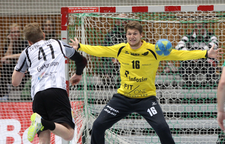 DKB 2. Handball-Bundesliga, DJK Rimpar Wölfe - TV Emsdetten