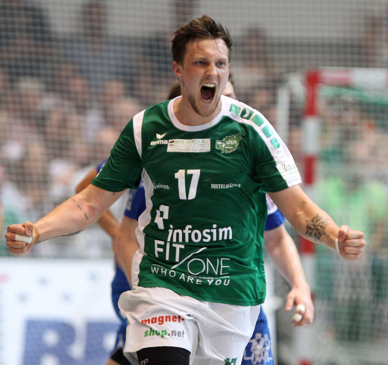 DKB 2. Handball-Bundesliga, DJK Rimpar Wölfe – TV 05/07 Hüttenberg