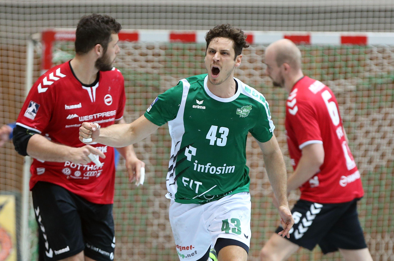 DKB 2. Handball-Bundesliga, DJK Rimpar Wölfe – ASV Hamm-Westfalen