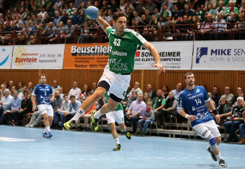 DKB 2. Handball-Bundesliga, DJK Rimpar Wölfe - Dessau-Rosslauer HV 06
