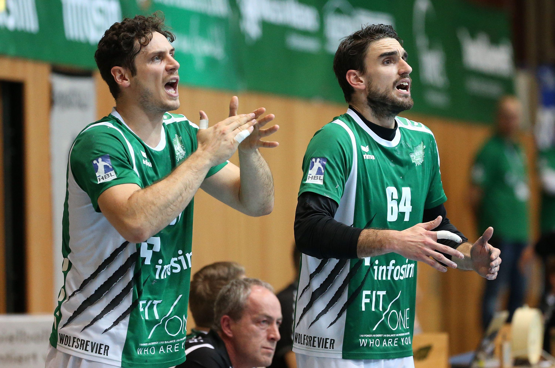 DKB 2. Handball-Bundesliga, DJK Rimpar Wölfe – Bergischer HC