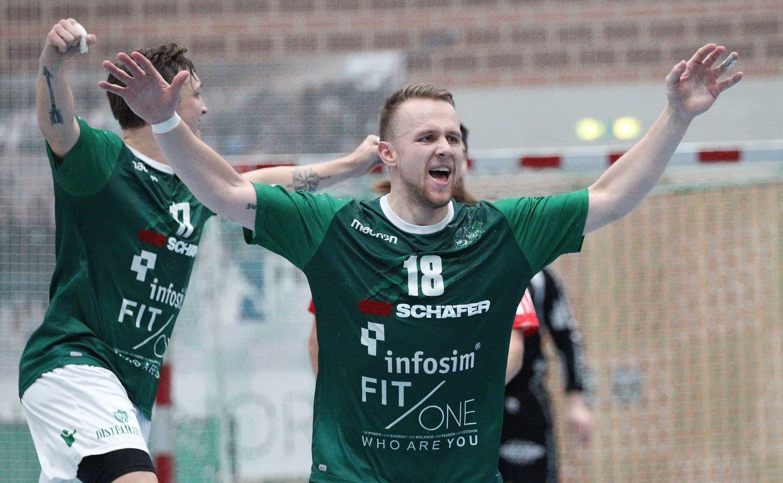 DKB 2. Handball-Bundesliga, DJK Rimpar Wölfe – TuS Ferndorf