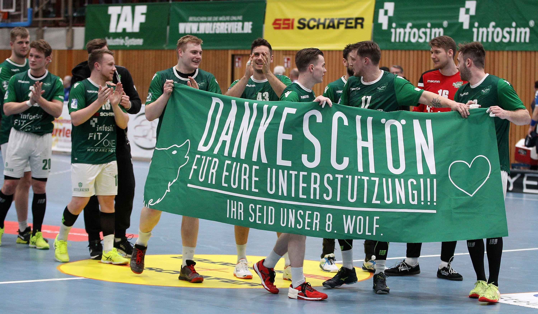DKB 2. Handball-Bundesliga, DJK Rimpar Wölfe - TV 05/07 Hüttenberg