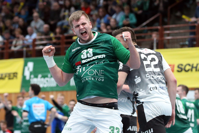 DKB 2. Handball-Bundesliga, DJK Rimpar Wölfe - TuSEM Essen