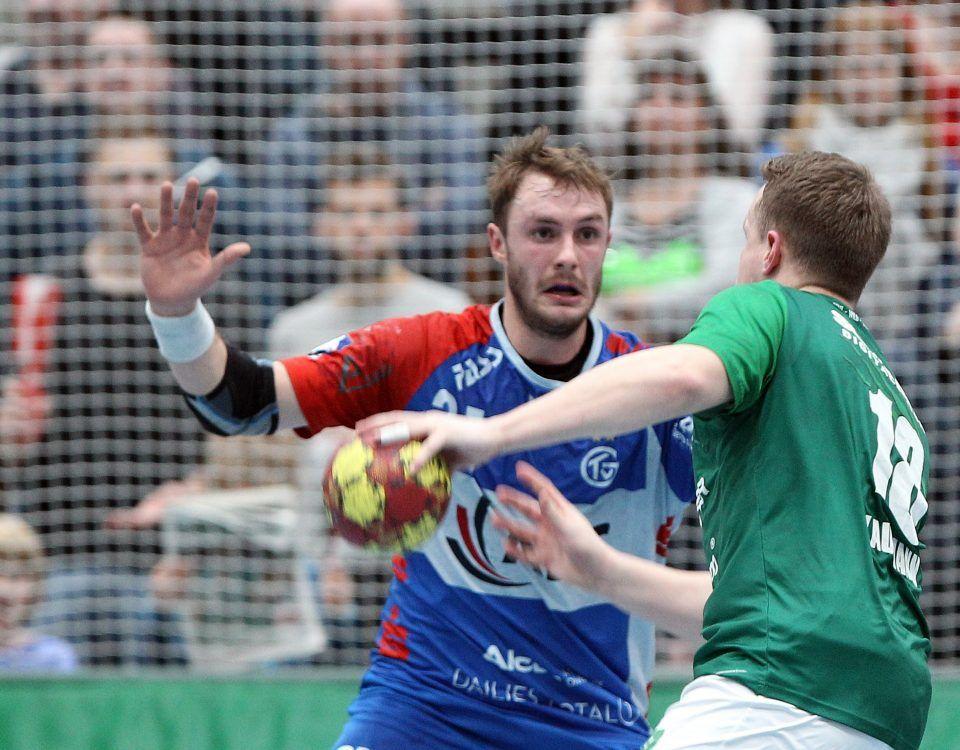 Tom Spieß und Steffen Kaufmann haben beide jeweils für den TV Großwallstadt und für die Wölfe gespielt