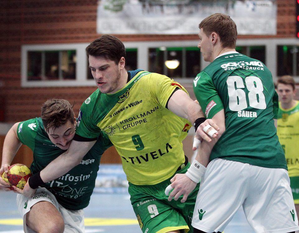 Tilman Pröhl im Kampf um den Ball