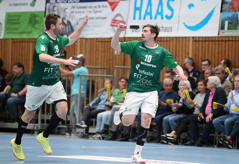 DKB 2. Handball-Bundesliga, DJK Rimpar Wölfe - HC Rhein Vikings
