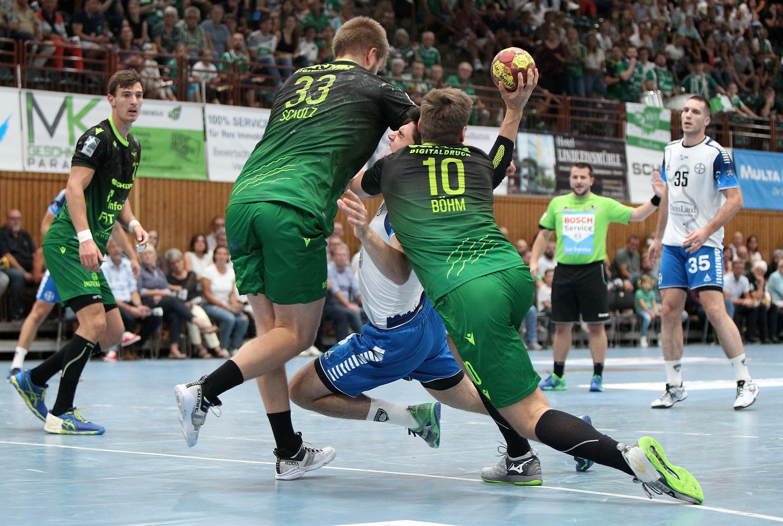 Liqui Moli 2. Handball-Bundesliga, DJK Rimpar Wölfe – TSV Bayer Dormagen