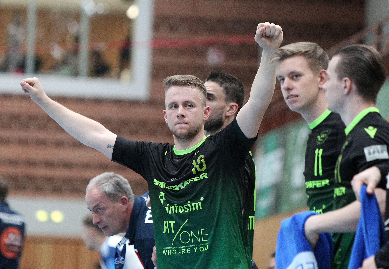 Liqui Moli 2. Handball-Bundesliga, DJK Rimpar Wölfe - TSV Bayer Dormagen