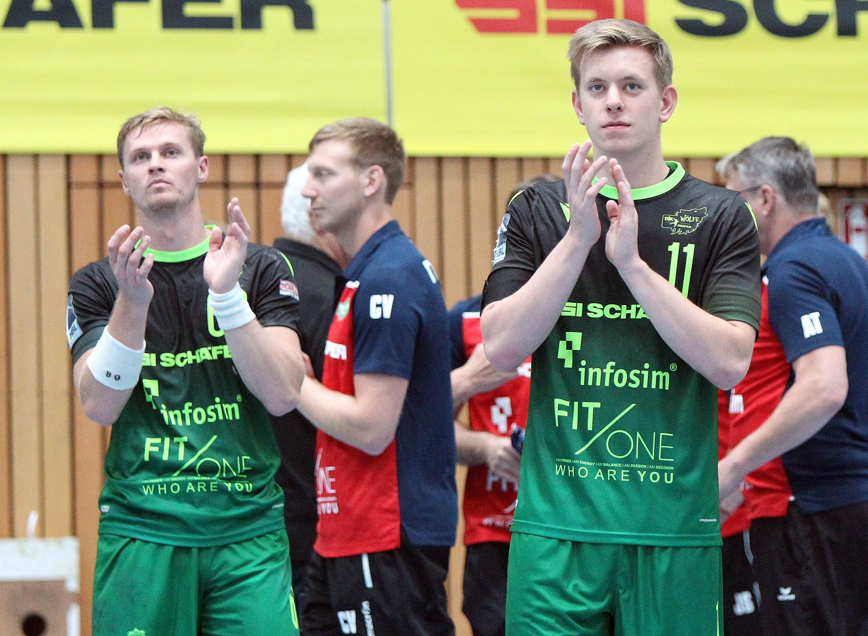 Handball, 2. Bundesliga, DJK Rimpar Wölfe - TSV Bayer Dormagen