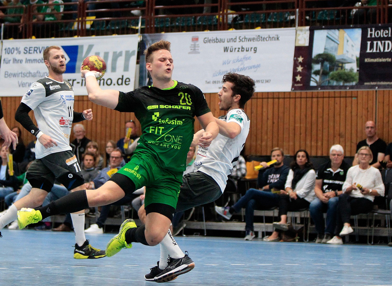2. Handball-Bundesliga, DJK Rimpar Wölfe – HC Elbflorenz Dresden