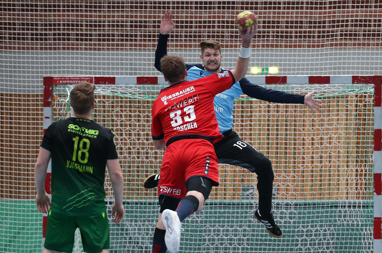 2. Handball-Bundesliga, DJK Rimpar Wölfe - SG BBM Bietigheim