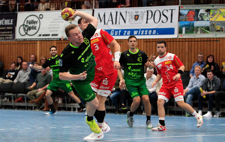 2. Handball-Bundesliga, DJK Rimpar Wölfe – TuSEM Essen