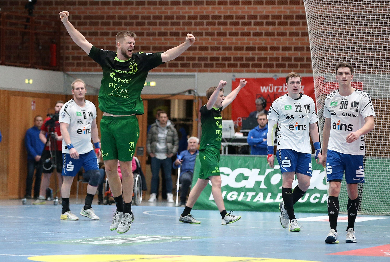 2. Handball-Bundesliga, DJK Rimpar Wölfe – EHV Aue
