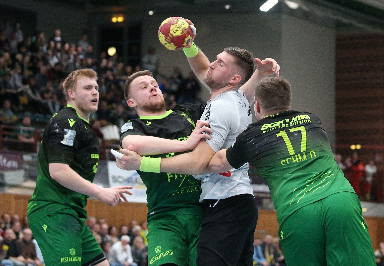 2. Handball-Bundesliga, DJK Rimpar Wölfe – TV Emsdetten