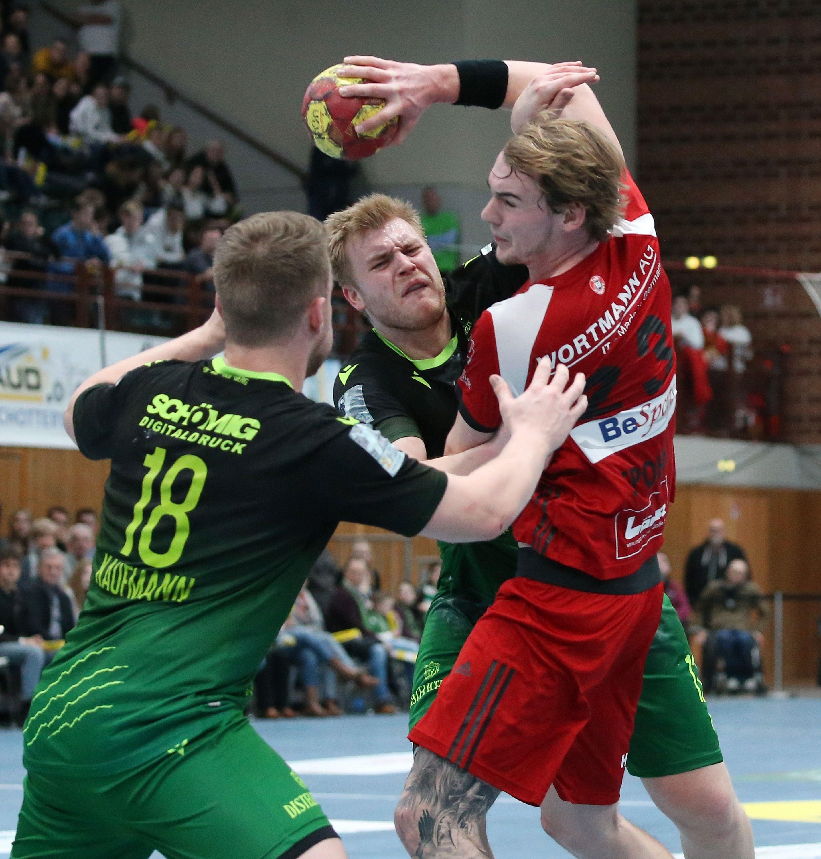 2. Handball-Bundesliga, DJK Rimpar Wölfe – TuS N-Lübbecke