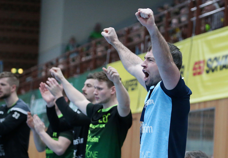 2. Handball-Bundesliga, DJK Rimpar Wölfe - TuS N-Lübbecke