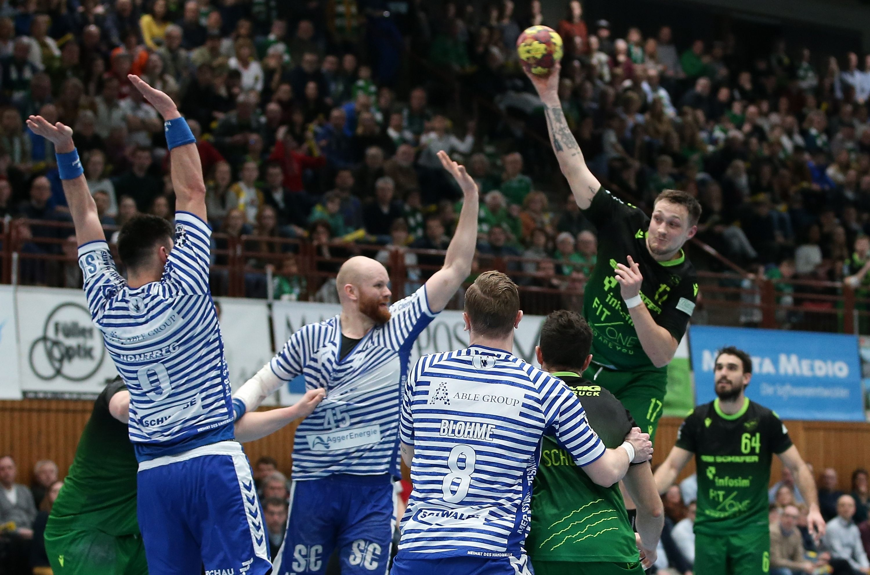 2. Handball-Bundesliga, DJK Rimpar Wölfe – VfL Gummersbach