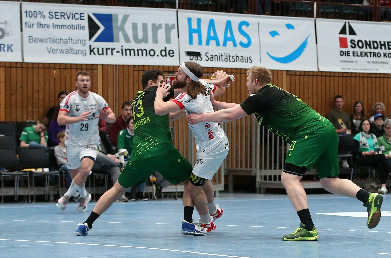 2. Handball-Bundesliga, DJK Rimpar Wölfe - TuS Ferndorf