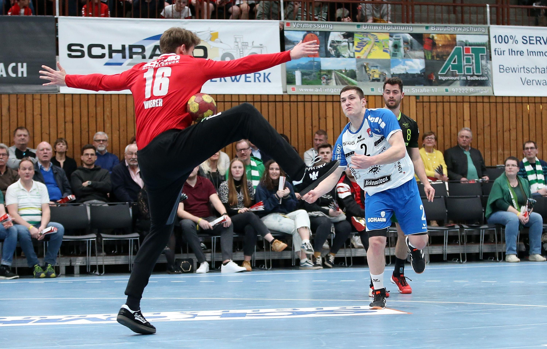 2. Handball-Bundesliga, DJK Rimpar Wölfe - TV 05/07 Hüttenberg