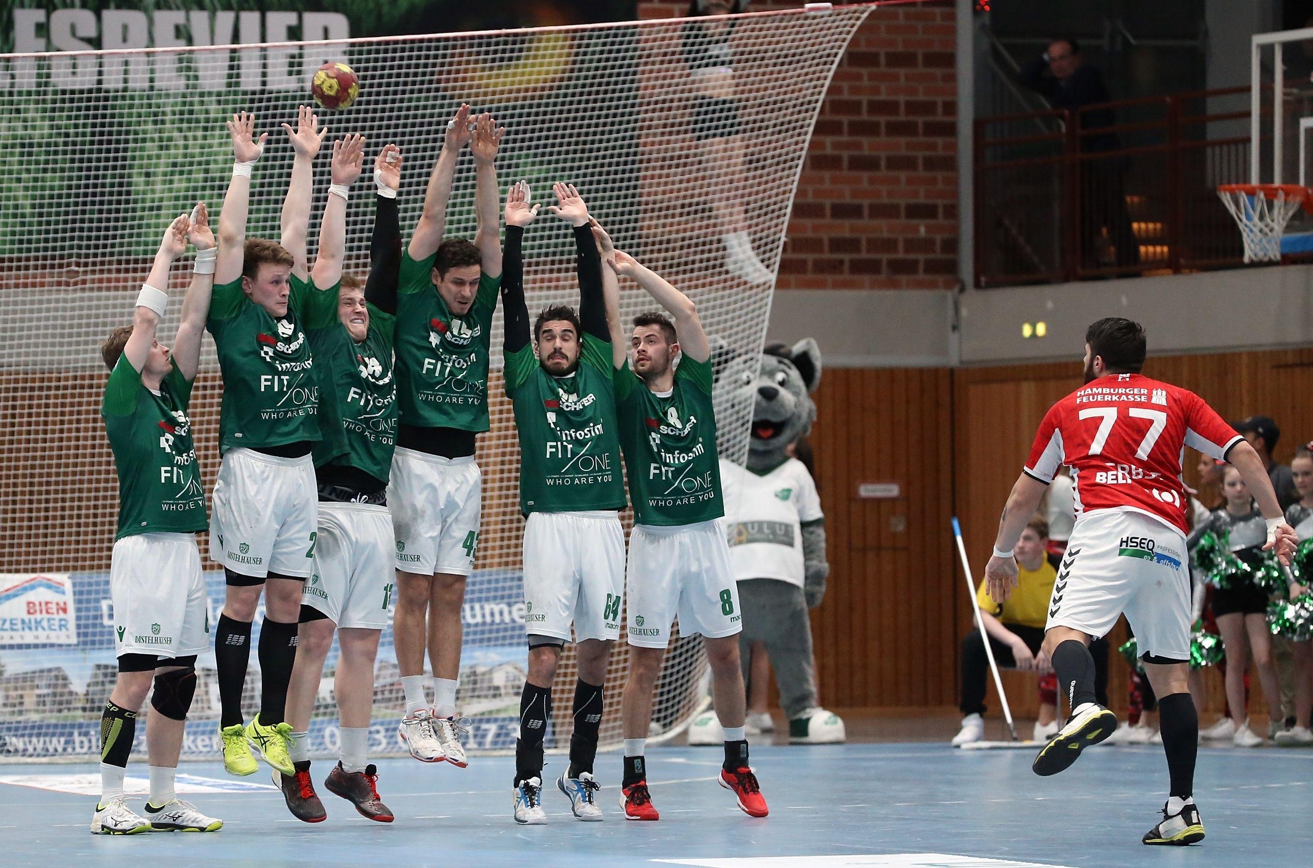 DKB 2. Handball-Bundesliga, DJK Rimpar Wölfe - Handball Sportverein Hamburg