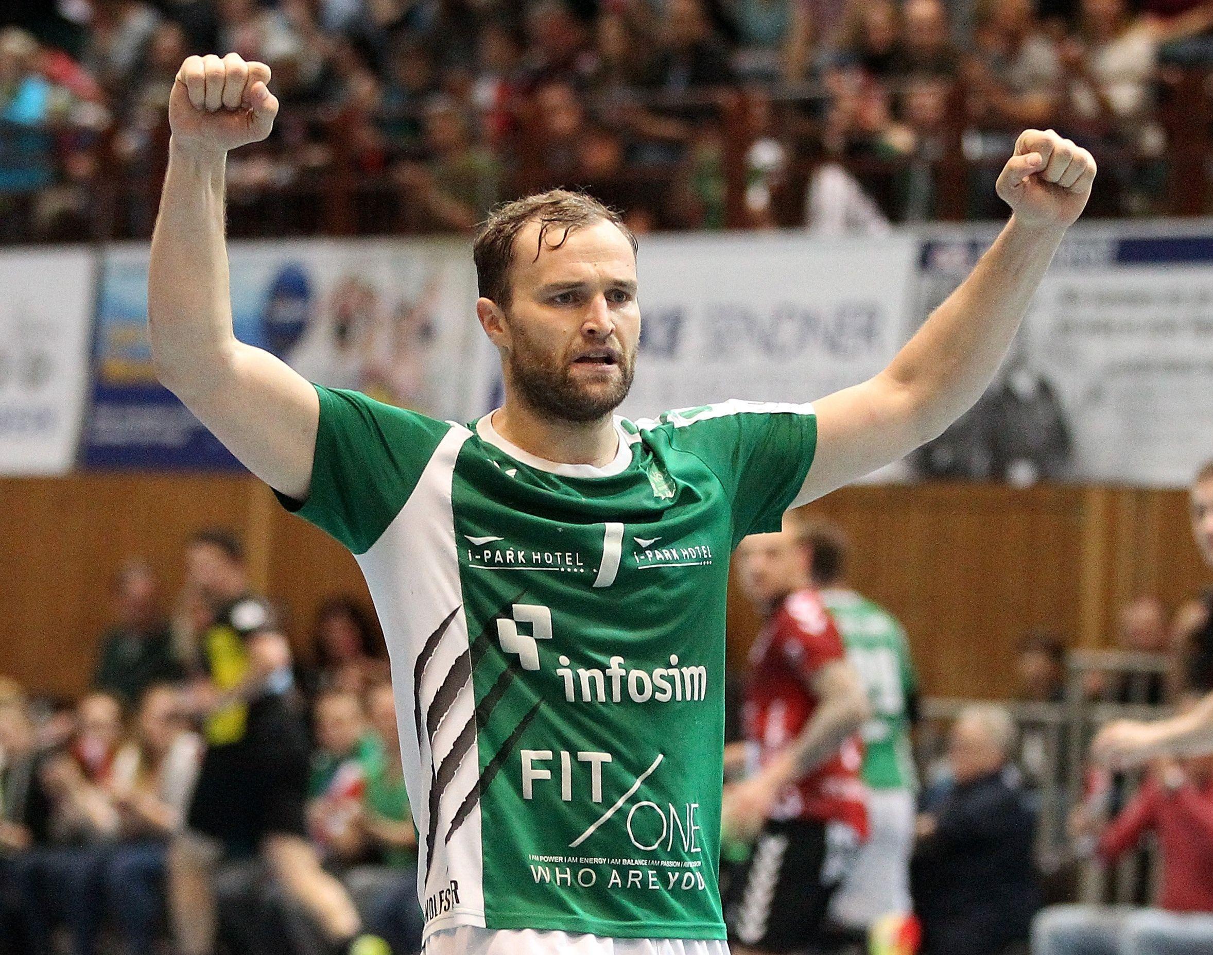 DKB 2. Handball-Bundesliga, DJK Rimpar Wölfe -VfL Lübeck-Schwartau